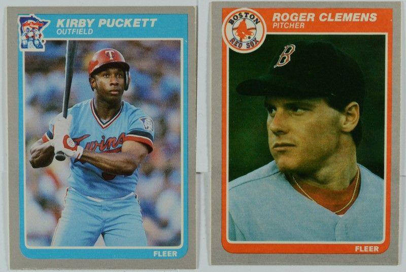 Complete Nmt 1985 Fleer Baseball Set 660 Cards