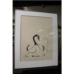 BENJAMIN CHEE CHEE (1944-77) LIMITED EDITION PRINT, HAND SIGNED LOWER RIGHT, 146/200 SIGNED IN THE