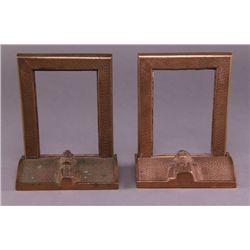 19th/20th Century, President Washington/Lincoln bronze