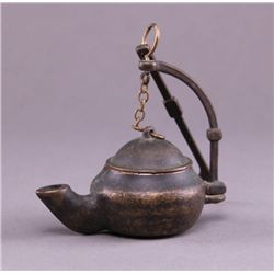 18th/19th Century, Whale Oil Lamp. An important source