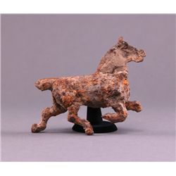 Civil War horse ornament found in Fredericksburg,