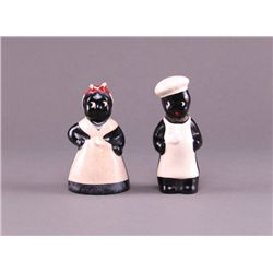 Black Americana Aunt Jemima and Uncle Mose hand painted