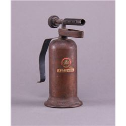 Lenk brass alcohol blowtorch. (Size: See last photo for