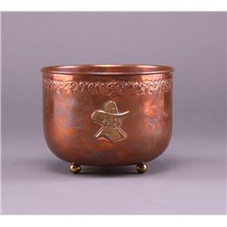 Pilgrim copper cup. (Size: See last photo for