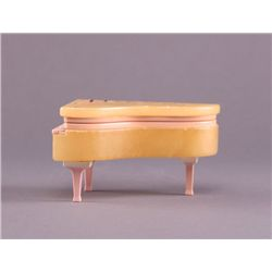 Italian alabaster piano. (Size: See last photo for