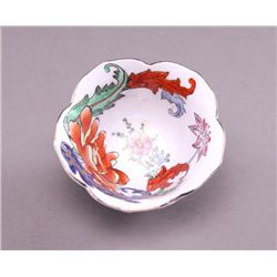 Fleury Chinese hand painted bowl. (Size: See last photo