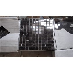 """12 BOXES APPROX 108 PCS 12X12 NEW ST LAURANT 1"""" SQUARE MOSAIC RETAIL 1932.00 AT 17.95 PER SQ FT"""