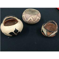 Vintage Native American Pottery Lot