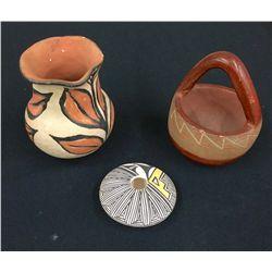 Vintage Pueblo Pottery Lot