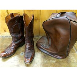 Lucchese Dress Boots & Bootbag