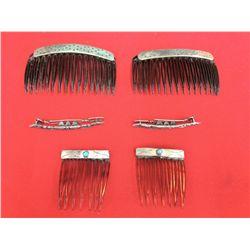 Hair Barrette/Comb Lot