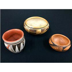 Hopi Pottery Lot