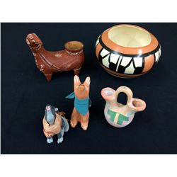 Misc. Native American Style Pottery Lot