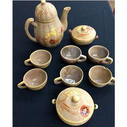 Handpainted Pottery Set