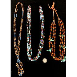 Trade Bead Necklace Lot
