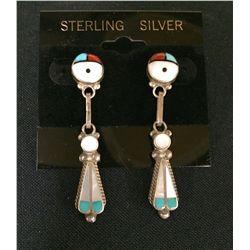 Zuni Sunface Earrings