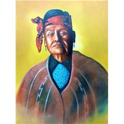 Original Navajo Oil Painting