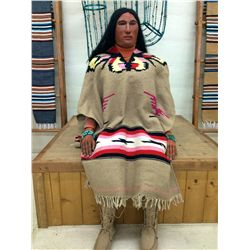 Life-size Wooden Indian
