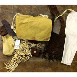 Canvas & Leather Bag Lot