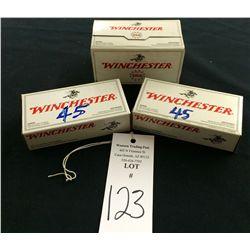 .45 Caliber Ammunition Lot
