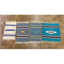 Vintage Chimayo Weaving Lot