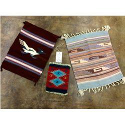 Southwestern Style Weaving Lot