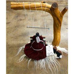Navajo Weaving Lady
