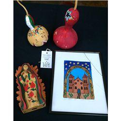 New Mexican Folk Art Lot