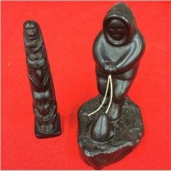 """Canadian """"First Nations"""" Carvings"""