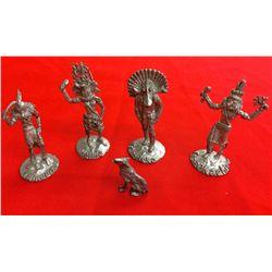 Metal Cast Kachina Lot