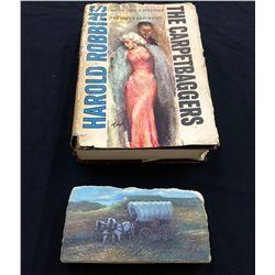 Hand-painted Rock & Vintage Book