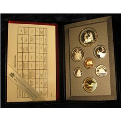 """133. 1988 """"Ironworks"""" Canada Commemorative Silver Proof Set. Original as issued."""