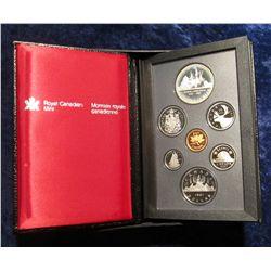"""137. 1987 """"Detroit de Davis Strait"""" Canada Commemorative Silver Proof Set. Original as issued."""