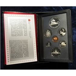 """138. 1886-1986 """"Vancouver (Train)"""" Canada Commemorative Silver Proof Set. Original as issued."""