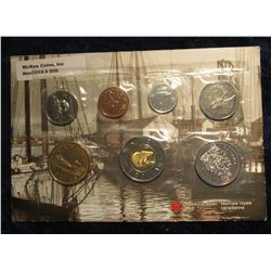 806. 1952-2002 Royal Canadian Mint Set. (7 pcs.) Original as issued.