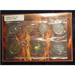 809. 2004 Canada Mint Set. Original as issued. (7 pcs.).