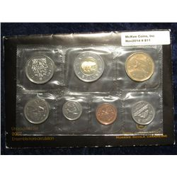 811. 2007 Canada Mint Set. Original as issued. (7 pcs.).