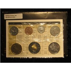 812. 2005 Canada Mint Set. Original as issued. (7 pcs.).