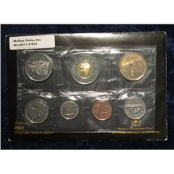 814. 2008 Canada Mint Set. Original as issued. (7 pcs.).
