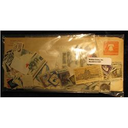 907. Large hoard of mostly Cancelled U.S. Postage Stamps.