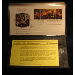 919. 1776-1976 Fleetwood Album of First Day of Issue Covers. Includes Benjamin Franklin, John Adams,