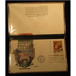 920. 1974 Universal Postal Union First Day Covers. Fleetwood. Art Around the World. Eight different