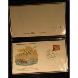 "924. 1927-1977 Golden Jubilee First Solo Transatlantic Flight New York to Paris Fleetwood Album ""The"