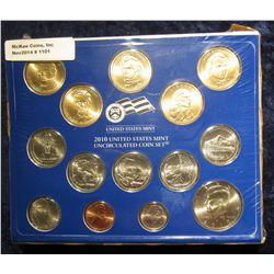 1101. 2010 U.S. Mint Set in original box as issued. (27 pcs.)