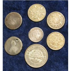 1137. (7) Various Foreign Silver Coins.
