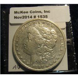 1535. 1897 S Morgan Silver Dollar. Book value $35.00.