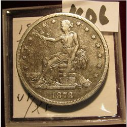 1606. 1878 S U.S. Trade Dollar. VF-EF.
