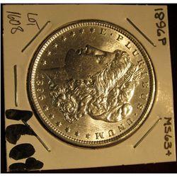 1608. 1896 P Morgan Silver Dollar. MS 63+.