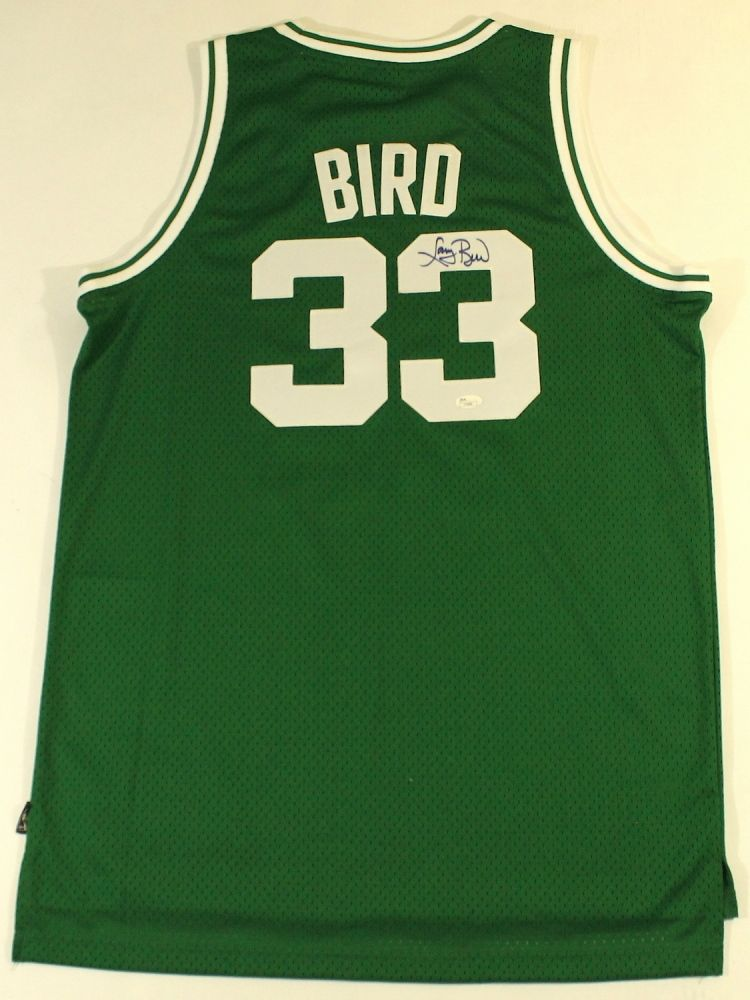 new style 2ebd3 213ed Larry Bird Signed Celtics Jersey (JSA COA)