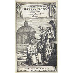 Cuperi's 1670 Observationum